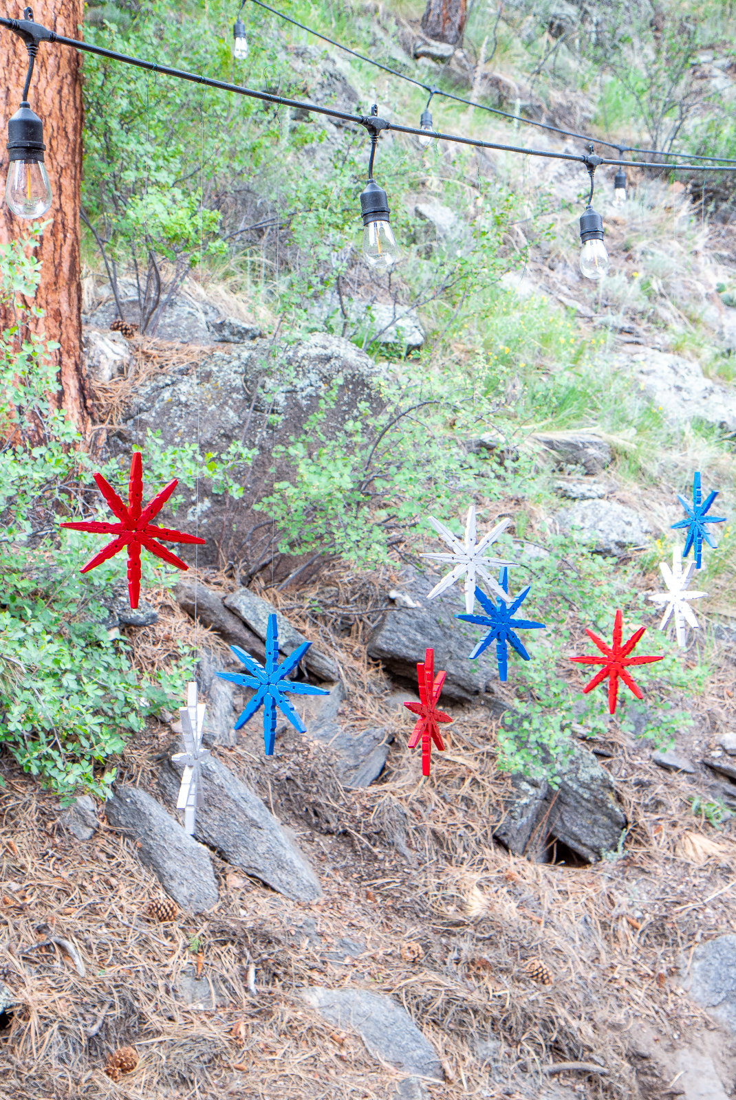 DIY Firework Ornaments