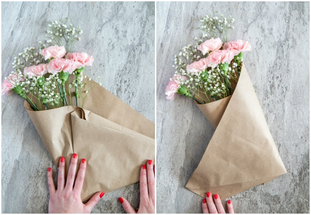 How to make an affordable flower bouquet