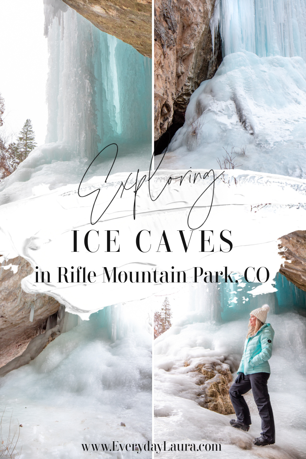Ice Caves in Rifle Mountain Park Colorado
