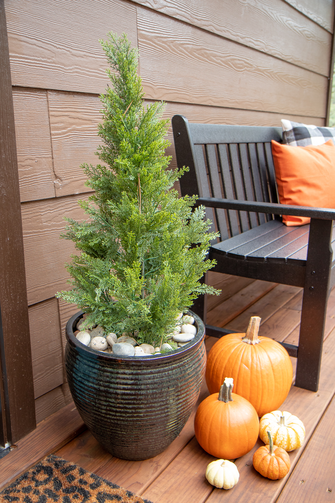 Faux outdoor trees