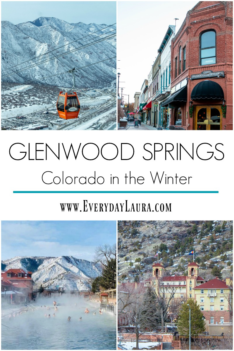 Glenwood Springs Colorado in the winter