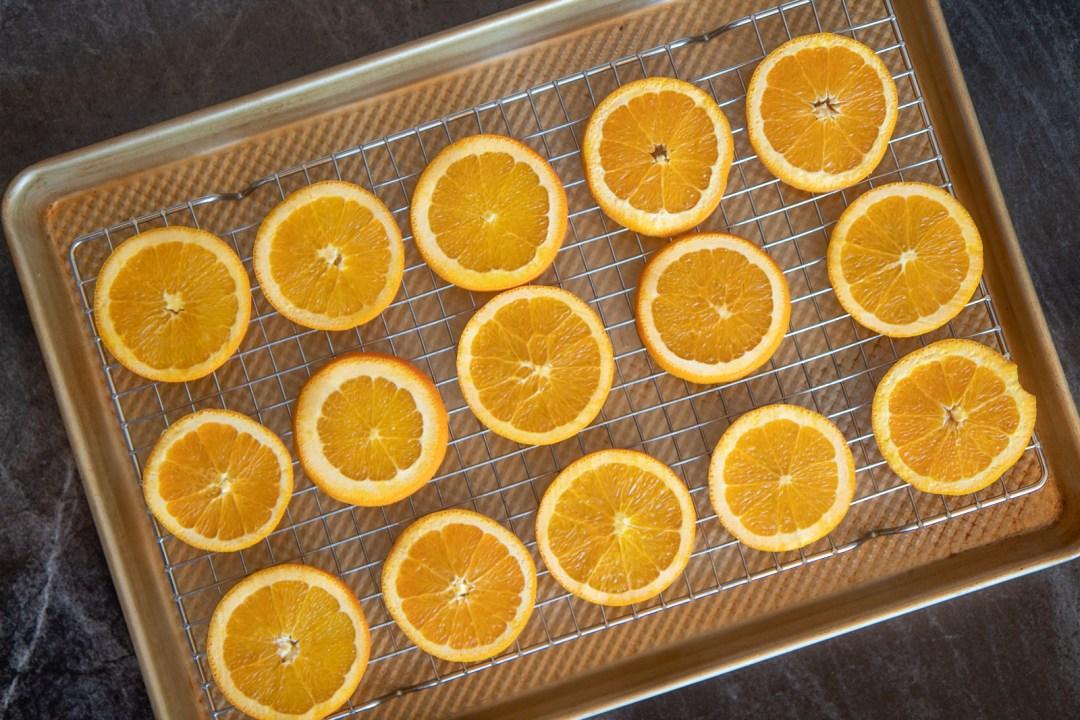 How to dry oranges for potpourri