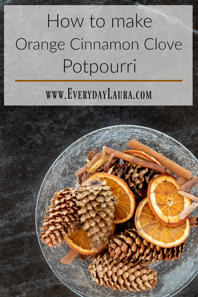 How to make orange cinnamon clove potpourri