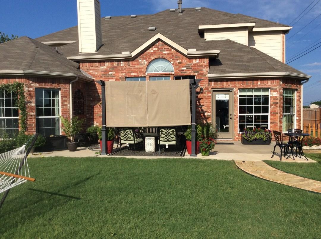 backyard budget decor