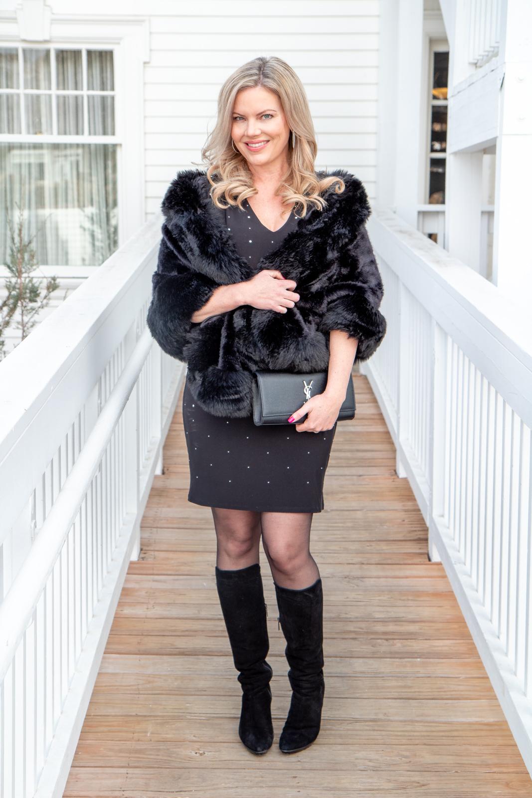 Ways to wear a dress in the winter