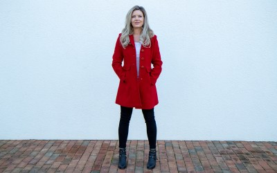 ROCK A RED COAT THIS SEASON