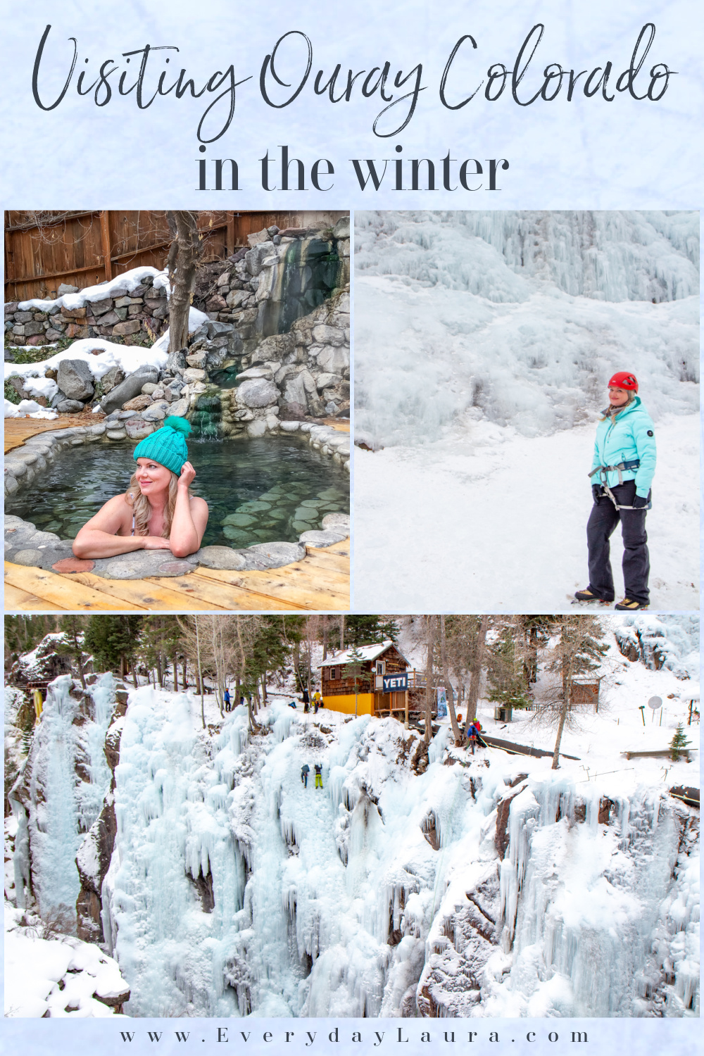 Visiting Ouray Colorado in the winter