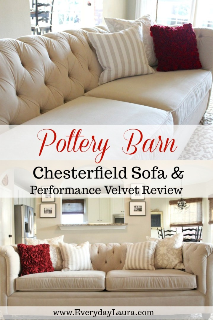 REVIEW: Pottery Barn Chesterfield Sofa and Performance ...