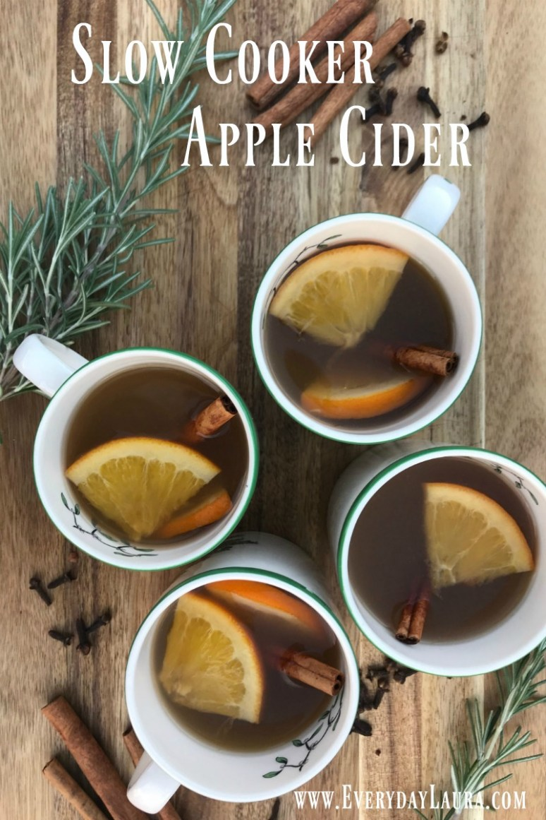 Slow Cooker Apple Cider