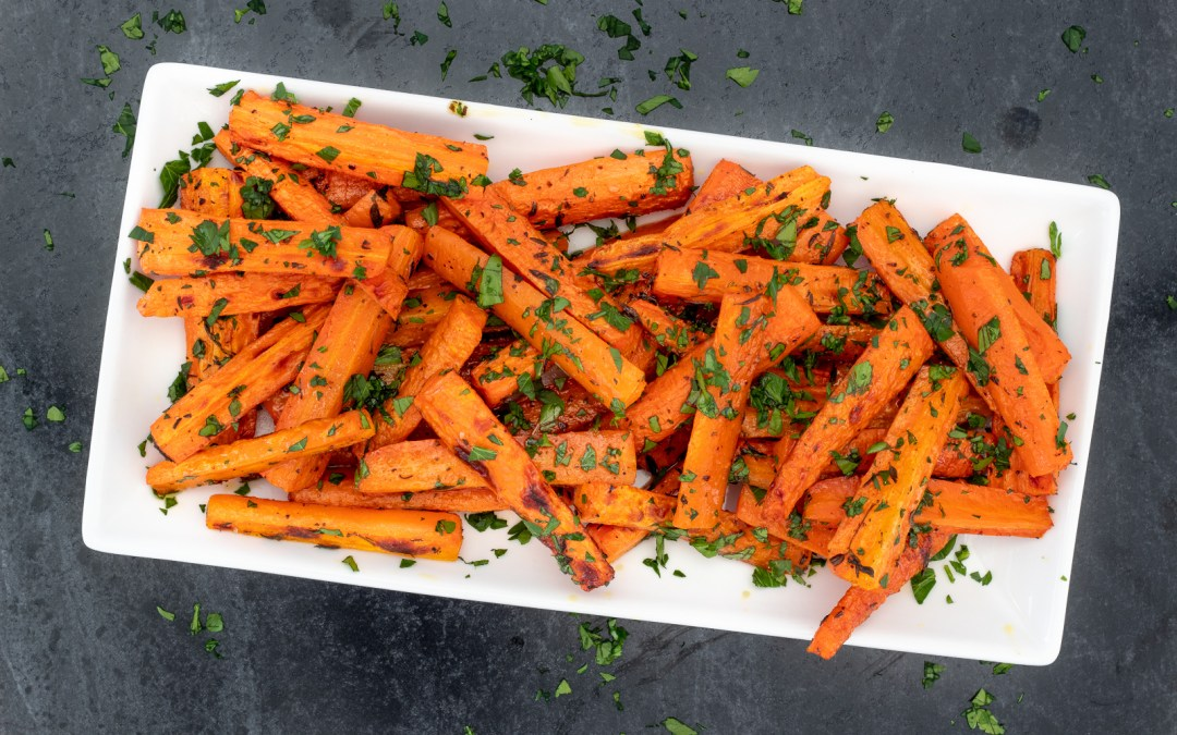 ROASTED CARROTS WITH PARSLEY & THYME