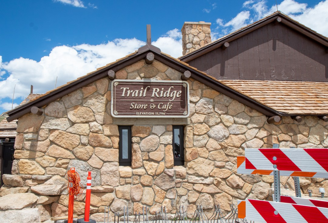 Trail Ridge Store and Cafe in Rocky Mountain National Park