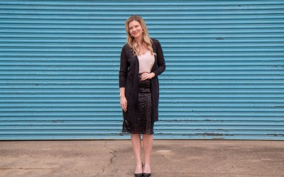 5 WAYS TO WEAR A BLACK SEQUIN SKIRT