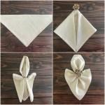 Simple Ways To Fold Napkins Everyday Laura