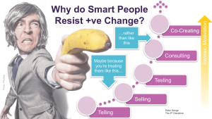 Why Do Smart People Resist Positive Change?