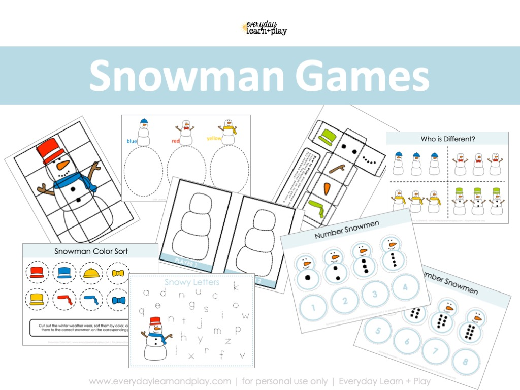 Snowman Games Cover