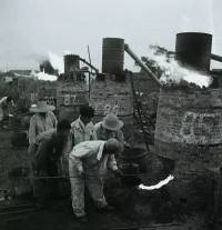 A collection: Backyard steel furnaces in Liaoning circa