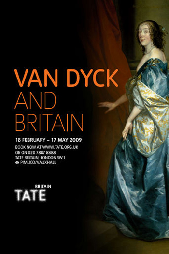 Van Dyck exhibition poster