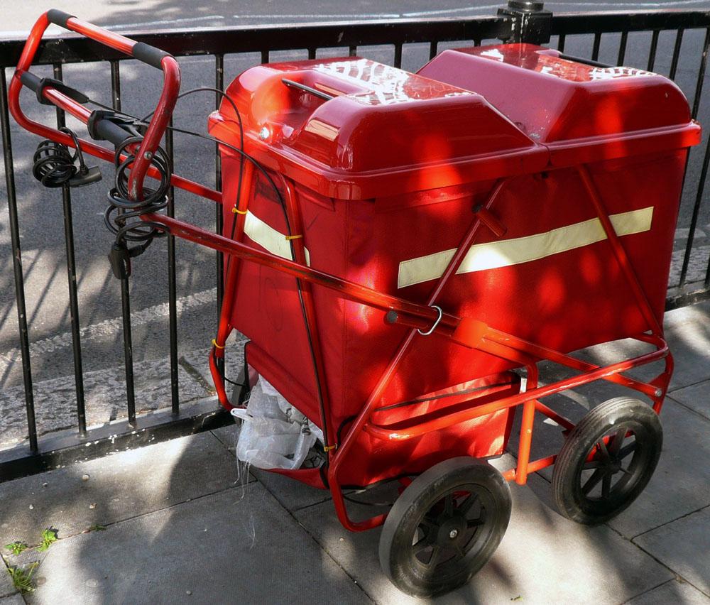 Royal Mail Cart