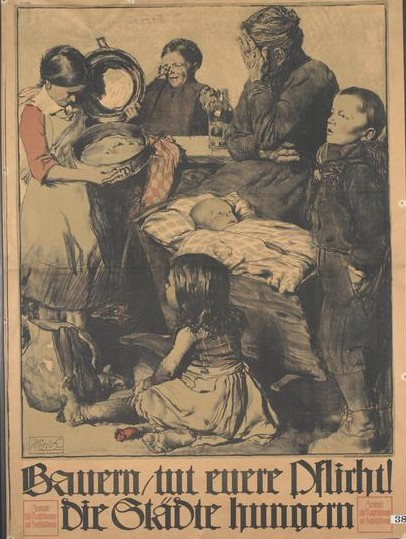 Food And The First World War In Germany Everyday Lives