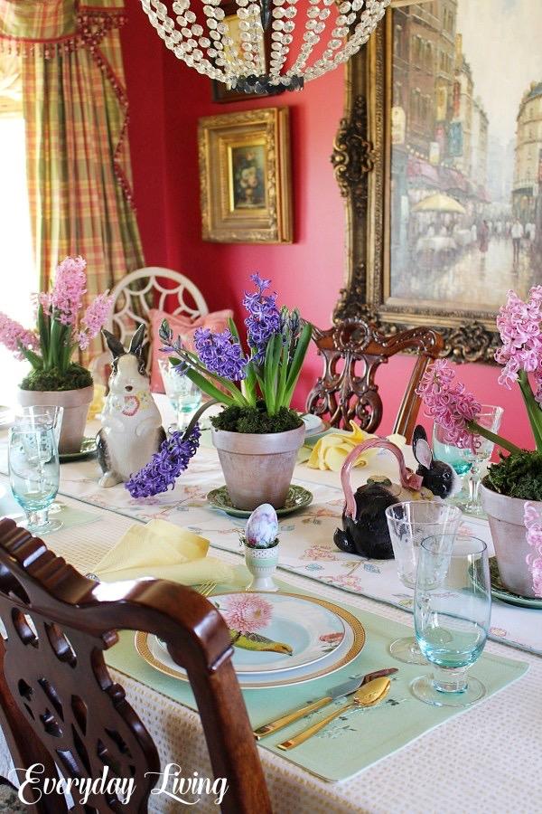 Spring Tablescape Blog Hop Spring Sweet Spring