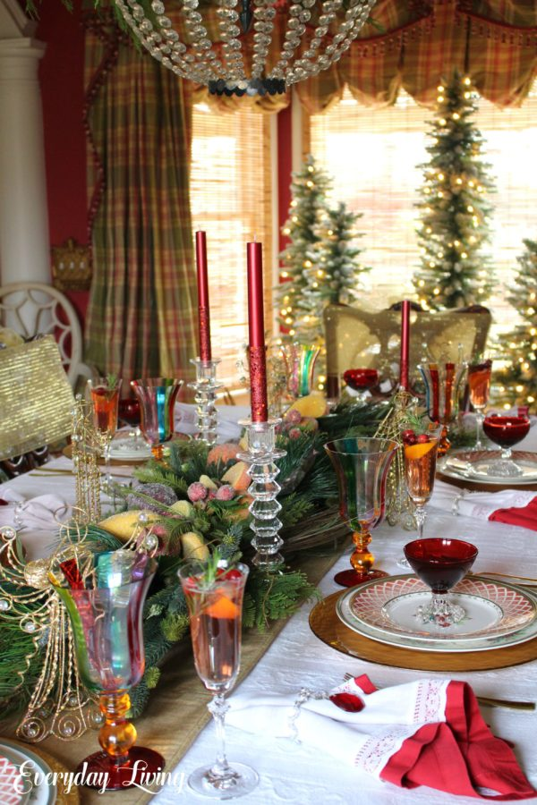 Christmas Tablescape Blog Hop The First Noel