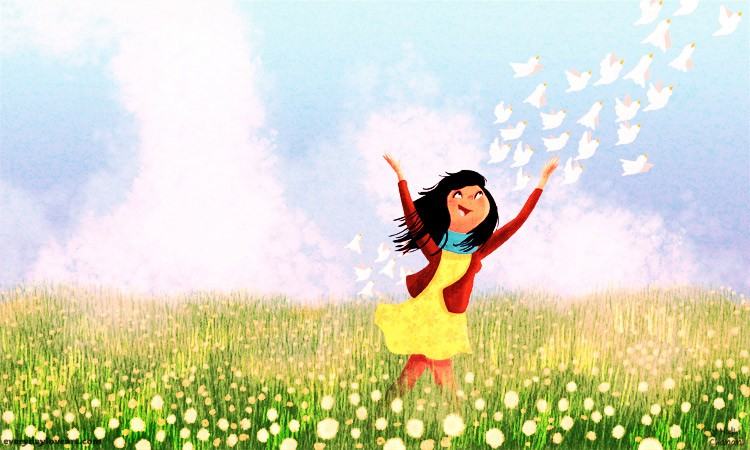 Free Bird Everyday Love Art The Art Of Nidhi Chanani