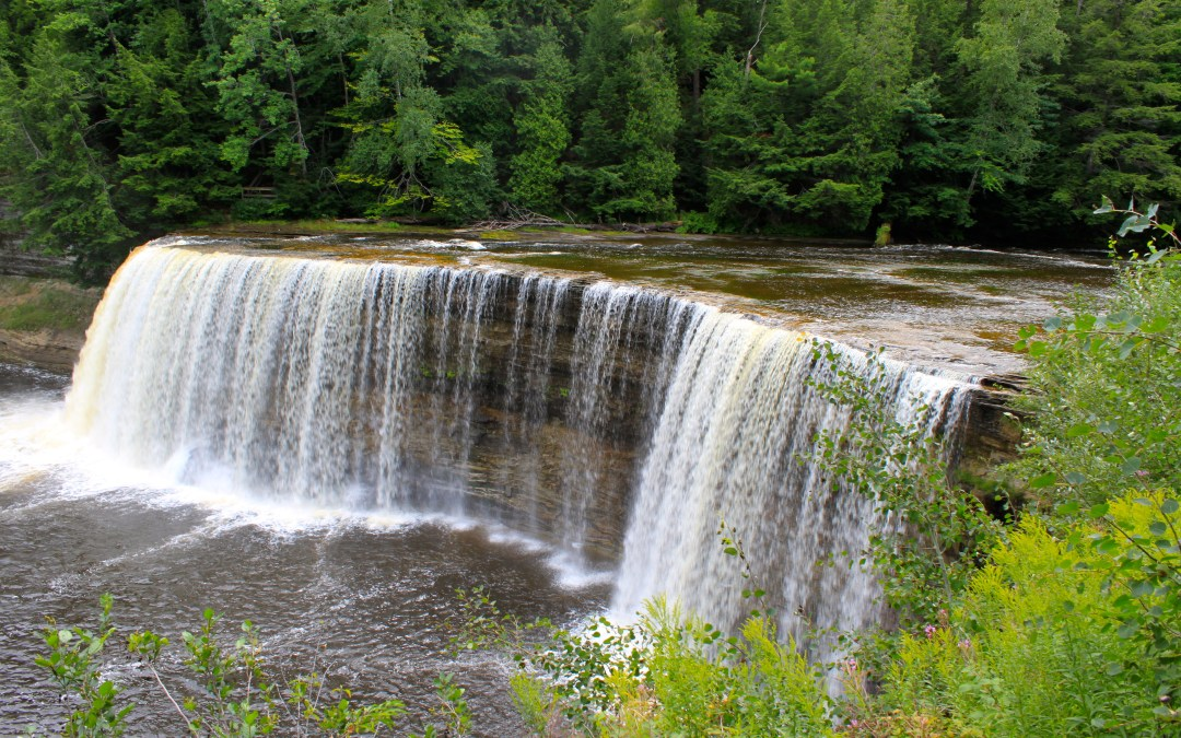 Our Michigan adventure: Tahquamenon Falls