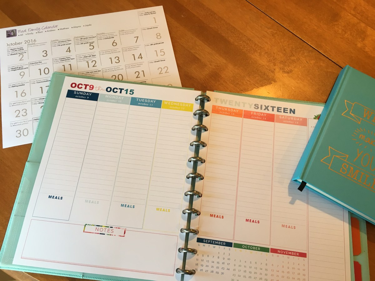 the fine print on planners, to-do lists and more