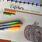 October habit tracker