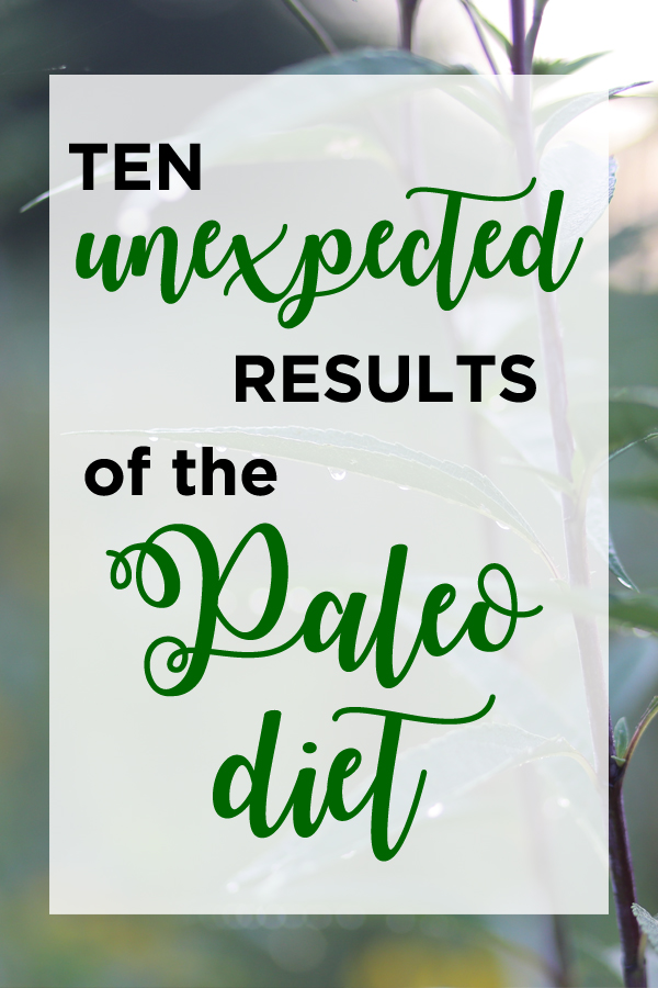 Ten unexpected results of the Paleo diet