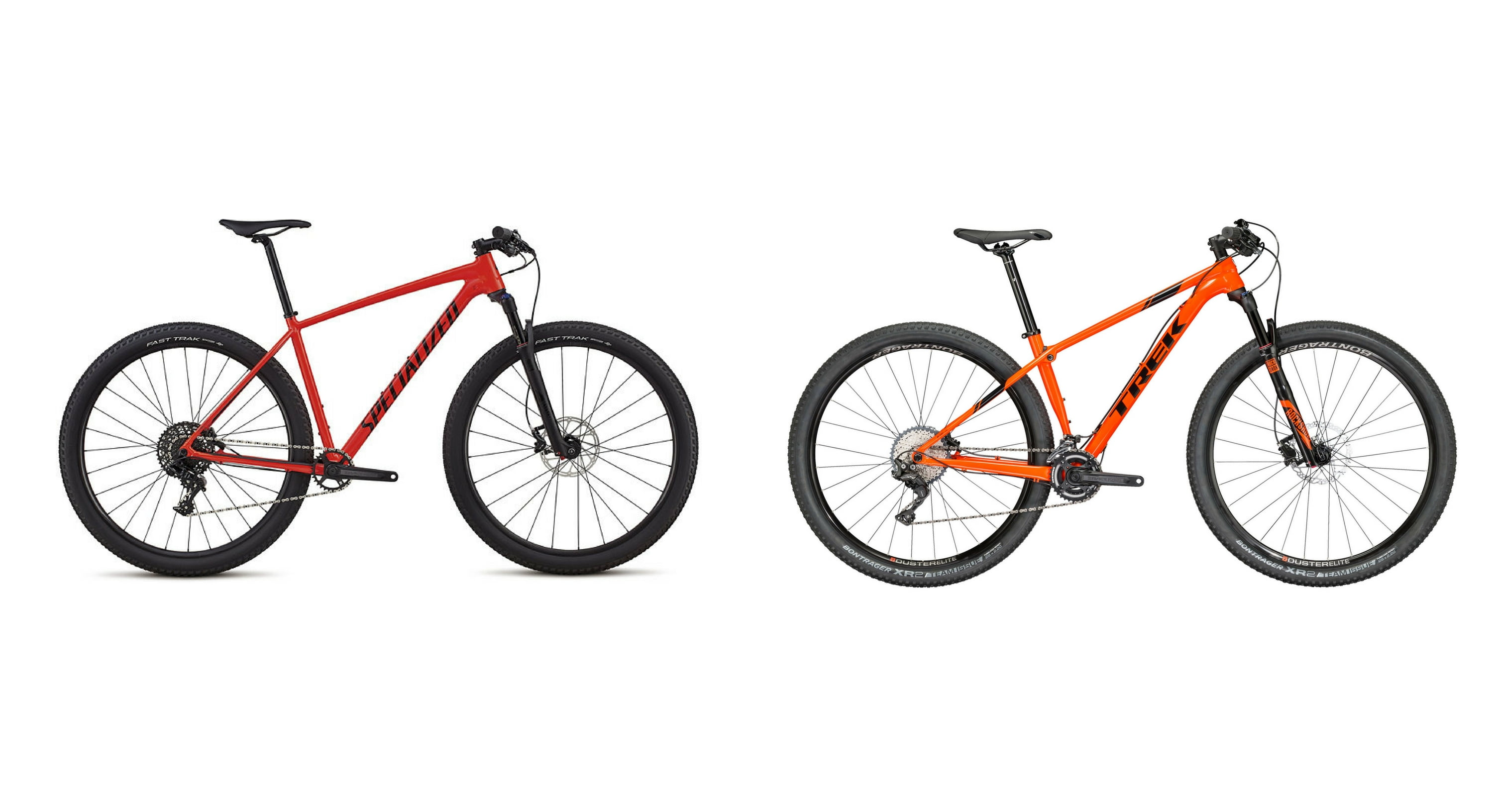 Specialized Chisel Vs Trek Procaliber Alloy