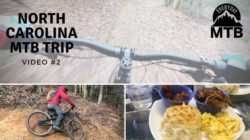 Riding Fletcher Creek in Pisgah, plus Bent Creek and Kitsuma