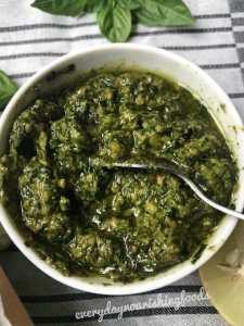 Vegan pesto sauce recipe