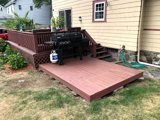 building the spruce s floating deck