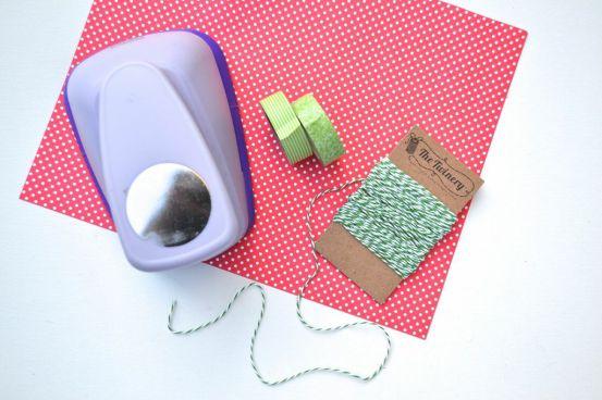 Everyday Party Magazine DIY Christmas Tag supply image