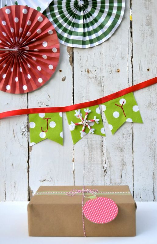 Everyday Party Magazine DIY Christmas Tags packaged