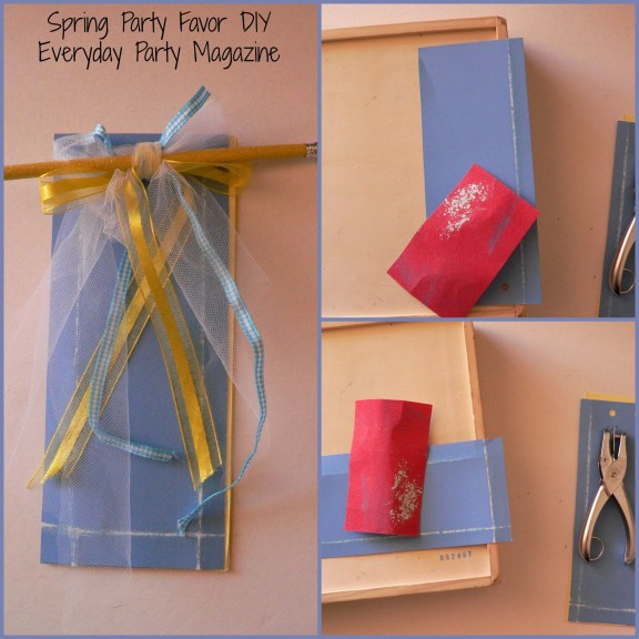 Everyday Party Magazine Spring Party Favor DIY