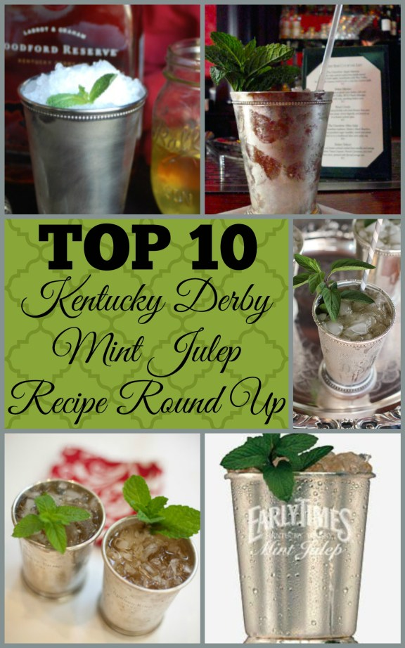 Everyday Party Magazine Mint Julep Recipe Round Up