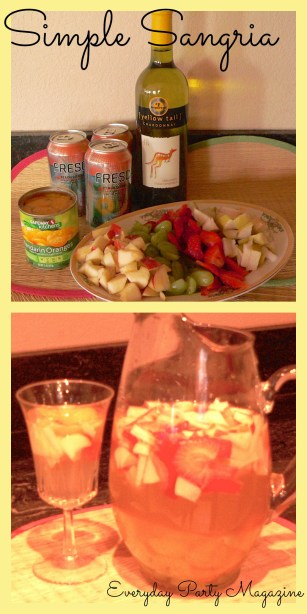 Everyday Party Magazine Simple Sangria Recipe