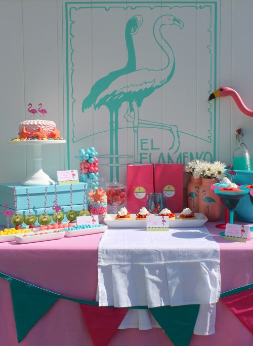 Everyday Party Magazine Flamingo Party using Expressionery Paper
