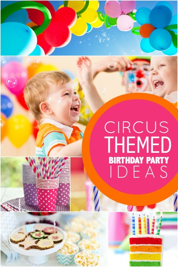 Everyday Party Magazine Circus Party Tips by Spaceships and Laser Beams