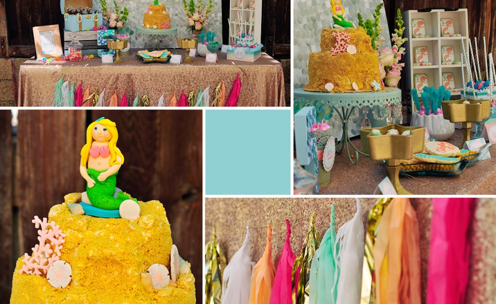 Mermaid Party Just a Little Sparkle Everyday Party Magazine