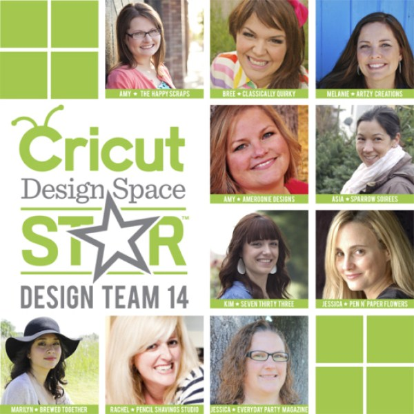 Everyday Party Magazine Cricut Design Space Star Challenge Team