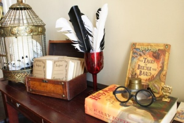 Everyday Party Magazine Harry Potter Party by Chica and Jo