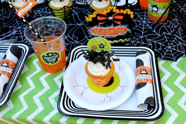 Everyday Party Magazine Monster Mash by Laura's Little Party