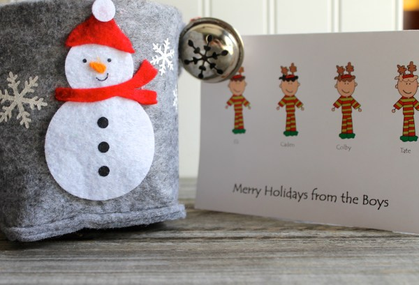 Everyday Party Magazine Holiday Gifts with My Peeps Cards