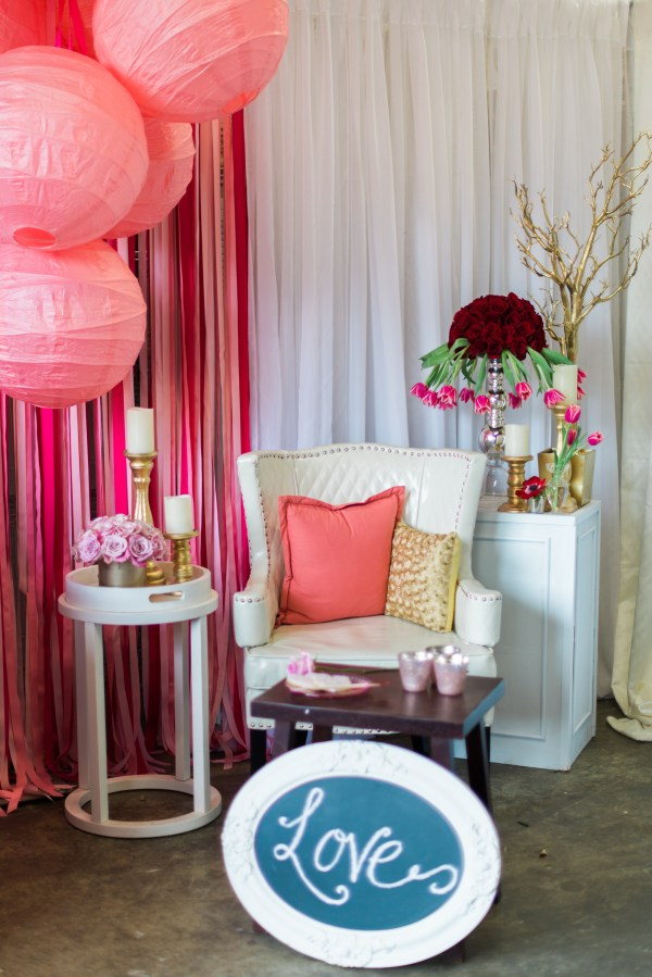 Valentine's Party Styling Tips by Intrigue Design Studio