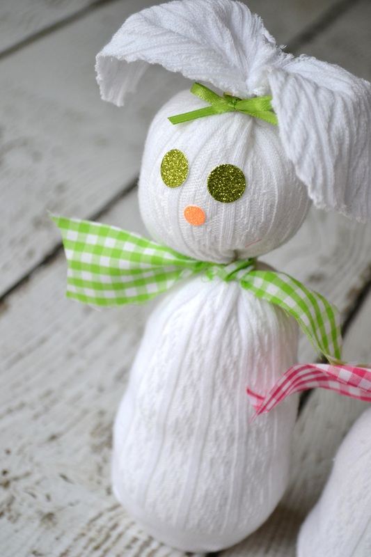 Sock Bunny DIY by Sweet Threads Clothing Co on Everyday Party Magazine