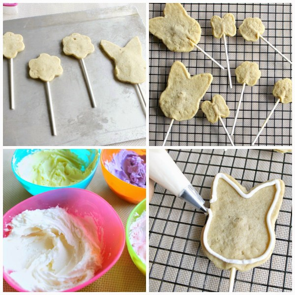 Easter Cookies by Cupcake Wishes and Birthday Dreams on Everyday Party Magazine