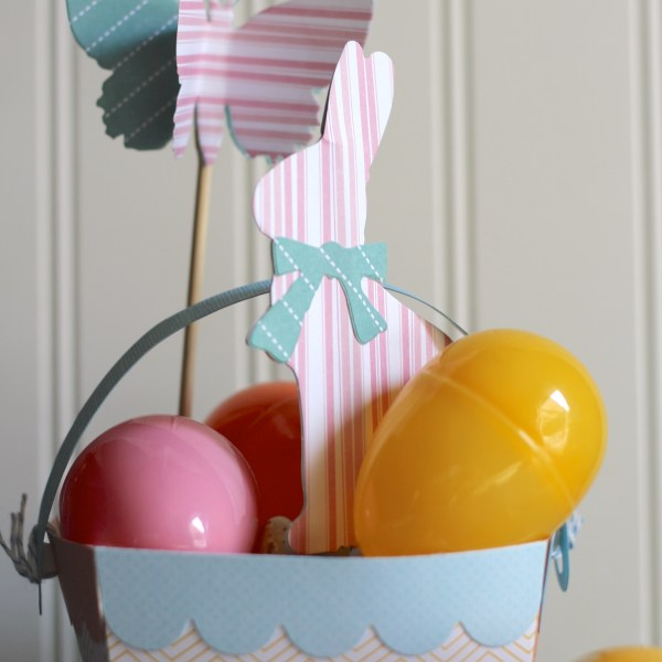 Simple Easter Basket DIY for Sizzix by Everyday Party Magazine